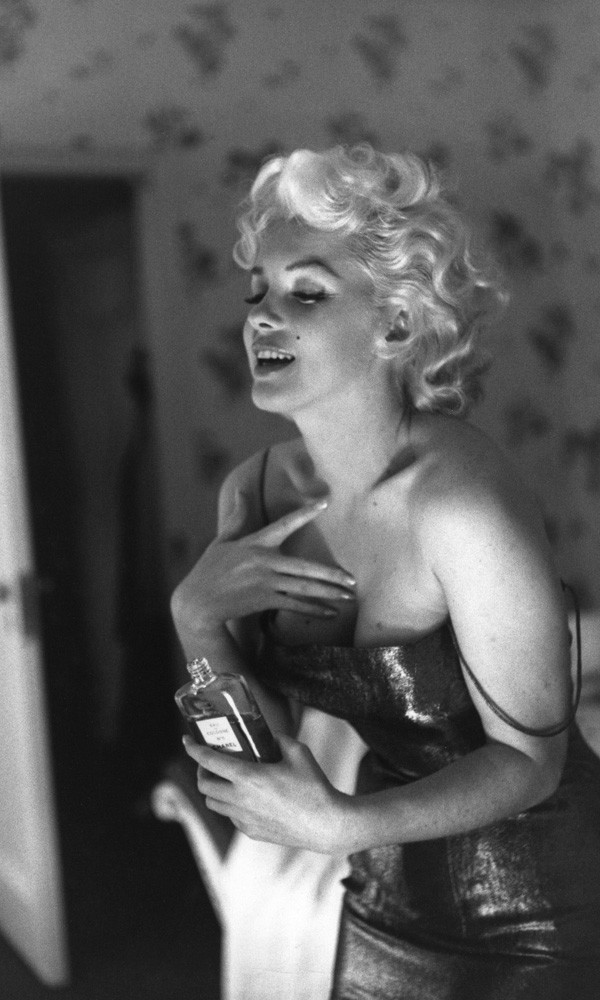 Marilyn Monroe is the new face of Chanel No. 5