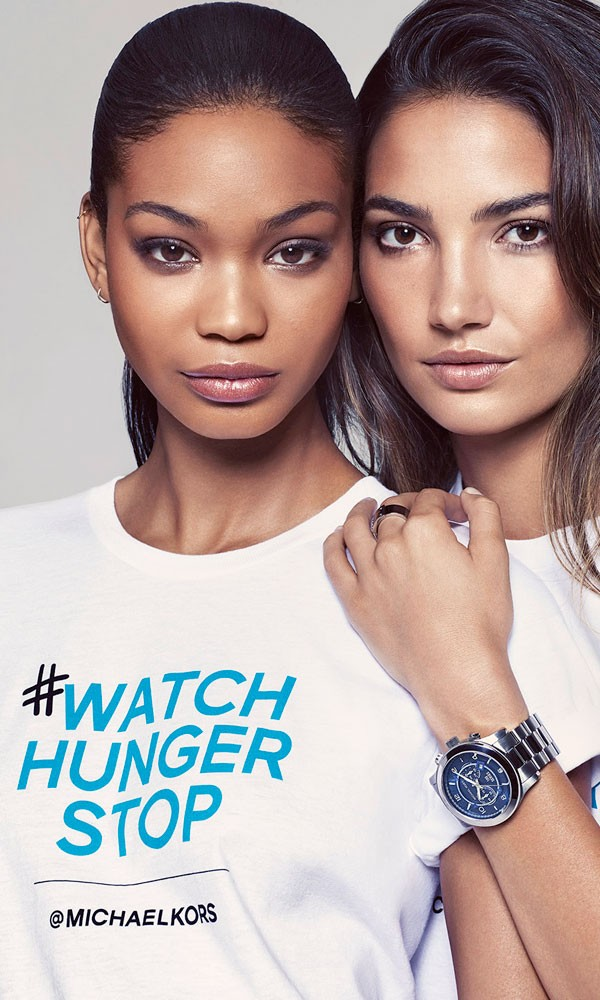 Michael Kors launches new campaign to target world hunger