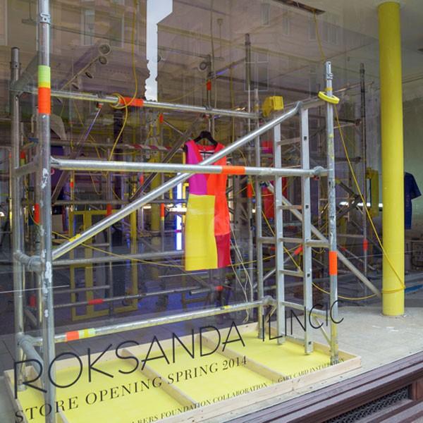 Roksanda Ilincic is opening her debut flagship store