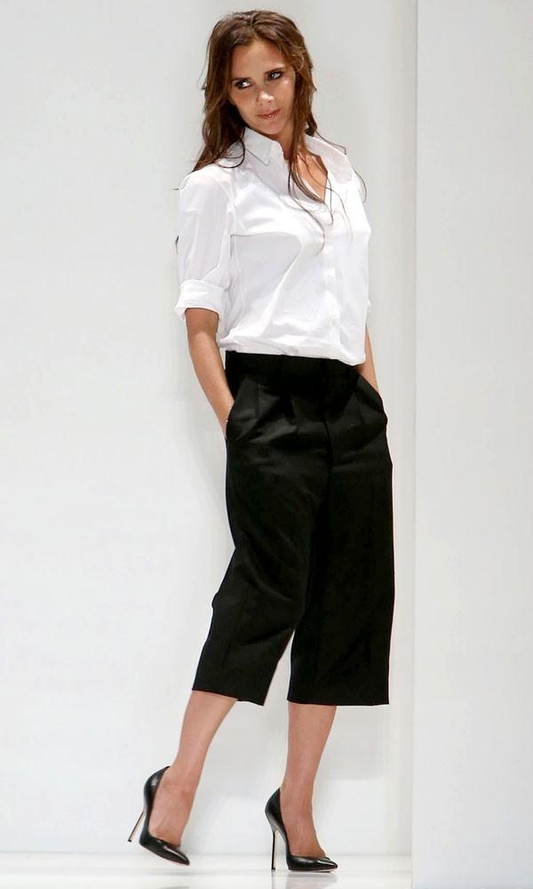 Victoria Beckham pictured at New York Fashion Week