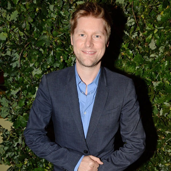 Christopher Bailey is pictured at a fashion week dinner