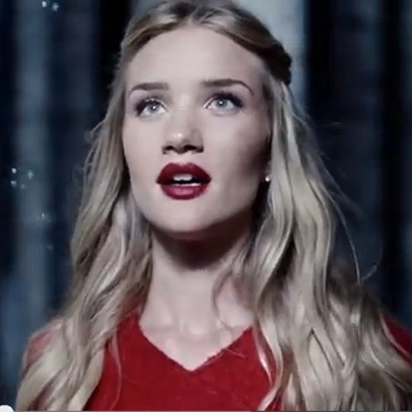 Rosie Huntington Whiteley in The Marks and Spencer Christmas advert