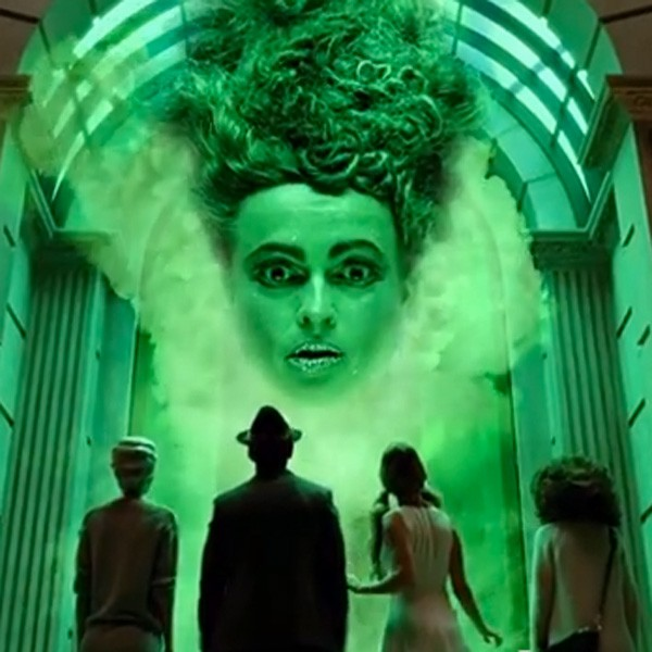 Helena Bonham Carter in The Marks and Spencer Christmas advert