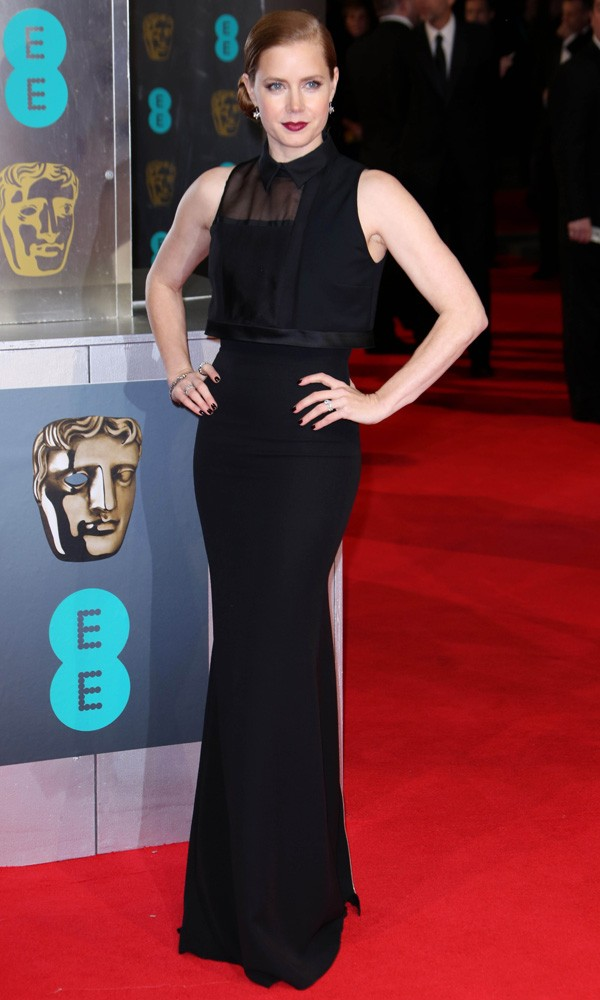 Amy Adams in Victoria Beckham at the Baftas