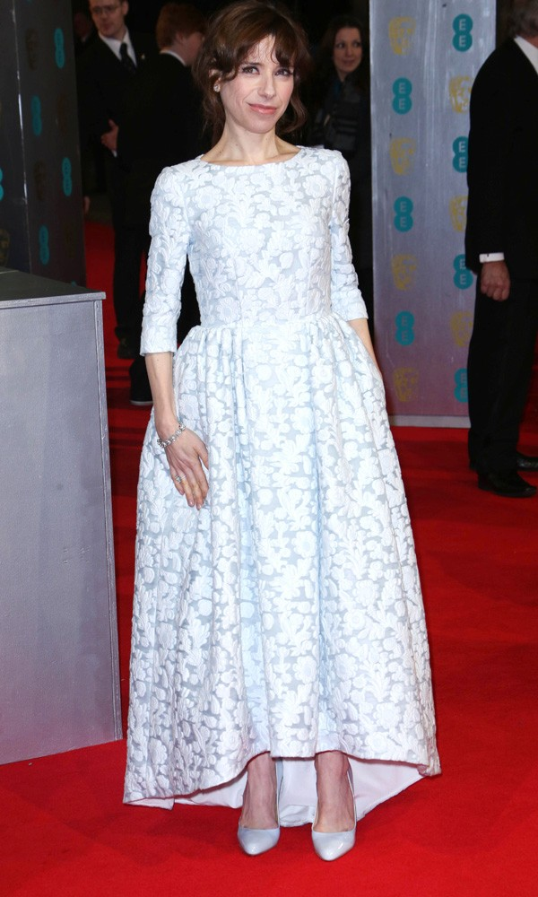 Sally Hawkins in Mulberry at the Baftas 2014