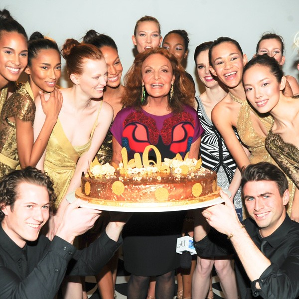 Diane von Furstenberg celebrates 40 years of the wrap dress