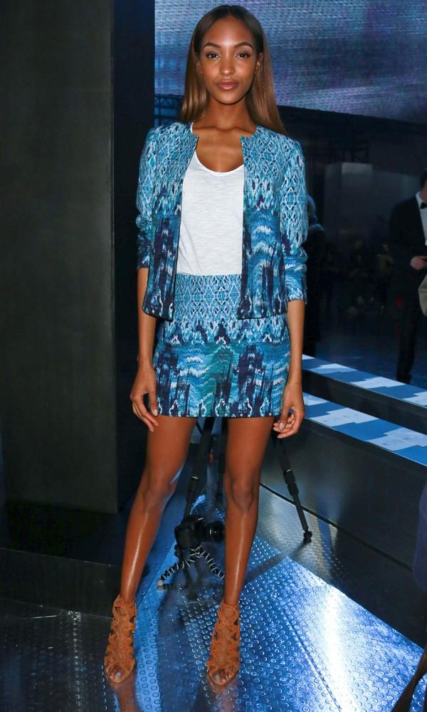 Jourdan Dunn at the H&M show