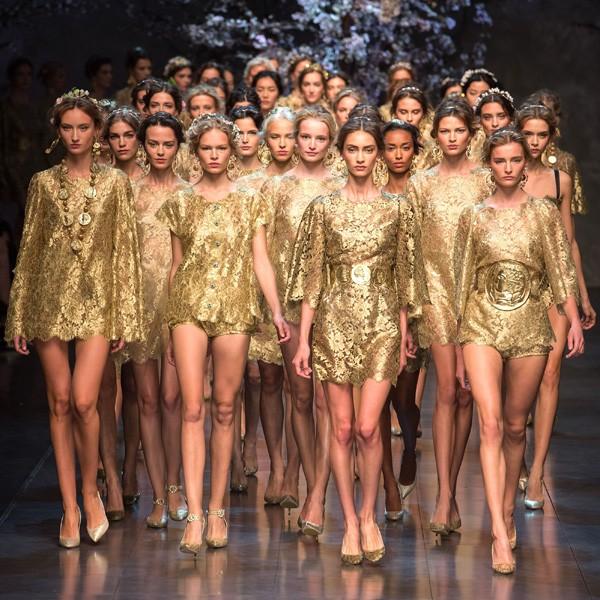 Dolce Gabbana catwalk ss14