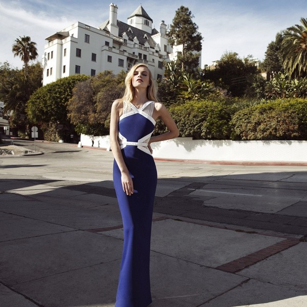 Poppy Delevingne in David Koma for Shopbop